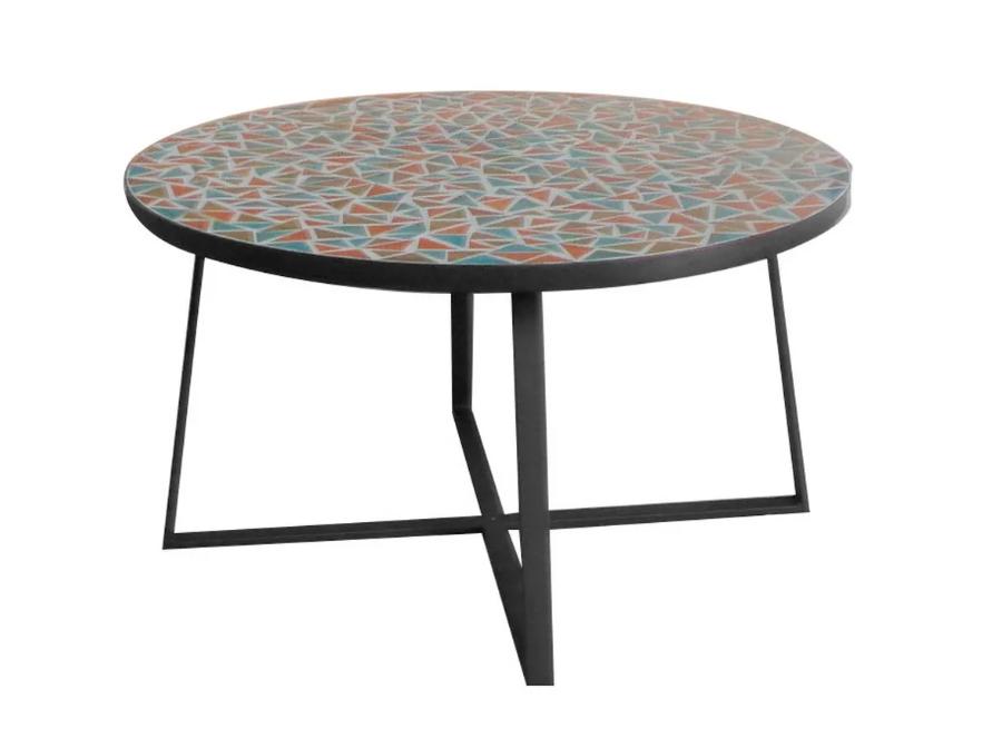 Mesa auxiliar Vania de ceramica 80x44 cm