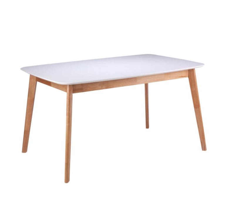 Mesa extensible Kenna madera de roble 140/180x75 cm