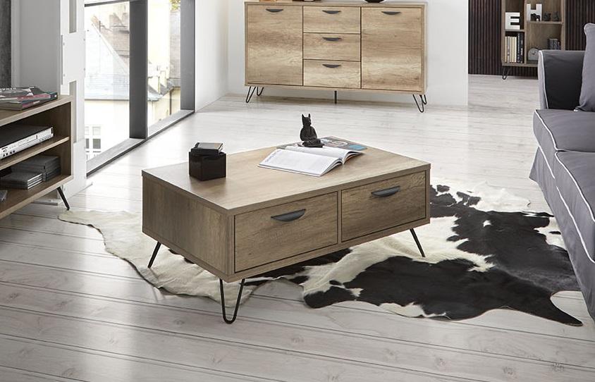 Mesa de centro madera kansas CT-216 100x60