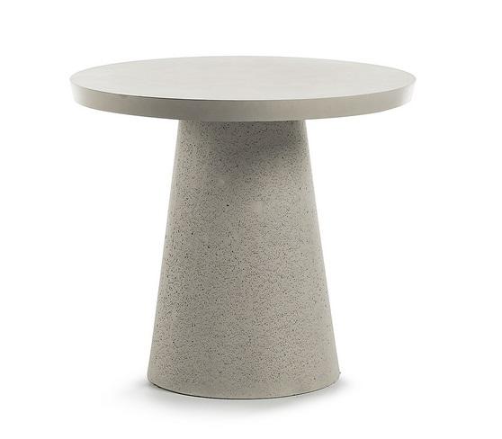 Mesa redonda de cemento 90cm