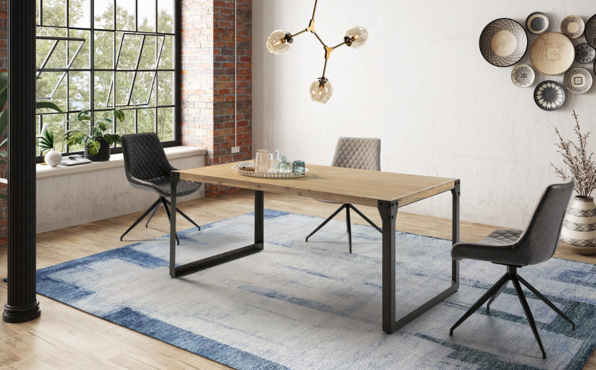 Mesa de comedor madera acacia renovada DT-160