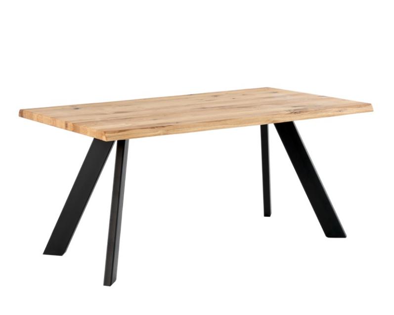 Mesa de comedor Lucia madera roble negro 220cm