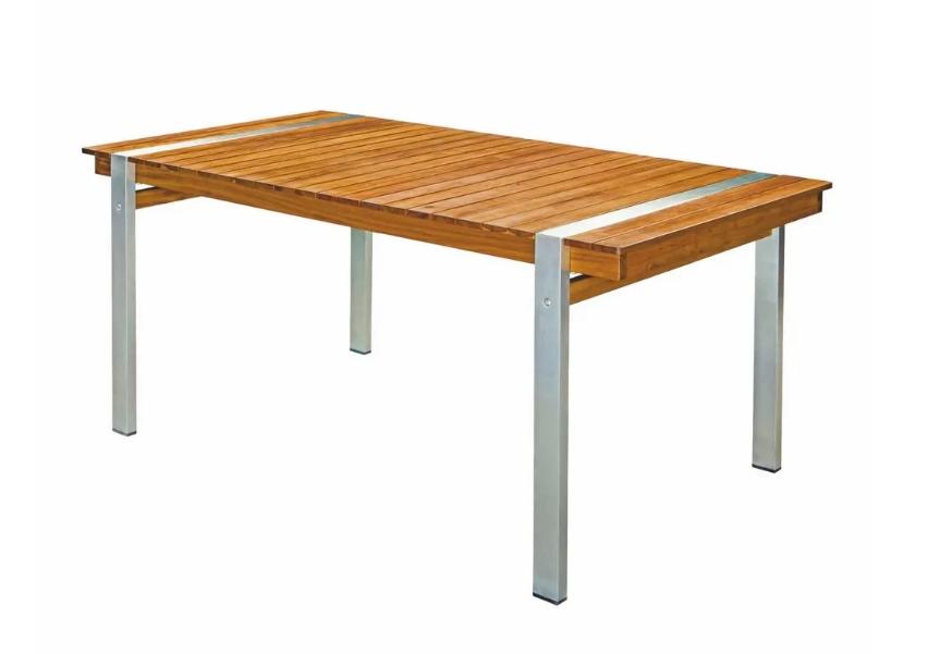 Mesa de comedor Norah madera acacia maciza 160x85x74cm