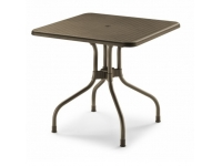 Mesa Olimpo Top bronce 80x80