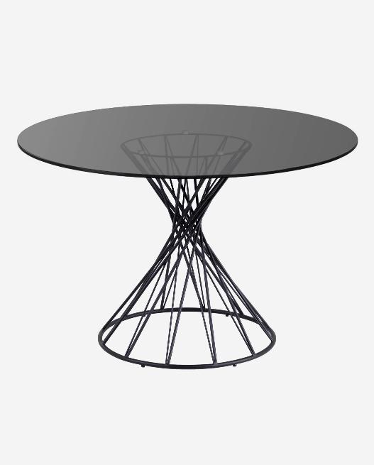 Mesa redonda Niut de cristal 120 cm
