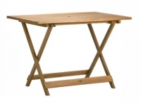 Mesa de madera plegable 110x70