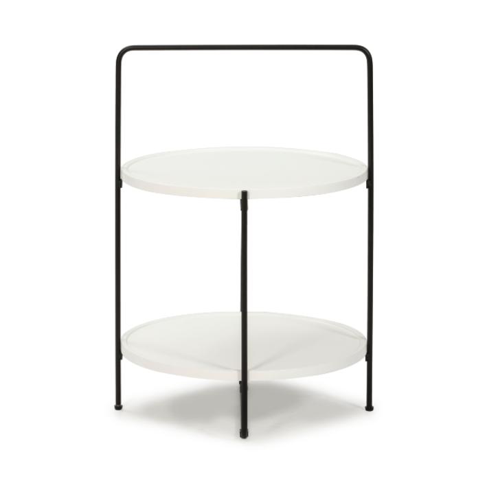 Mesa de centro Tessa blanco  45cm