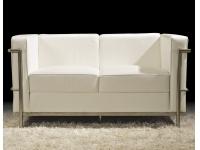 Sofa Le Corbusier blanco