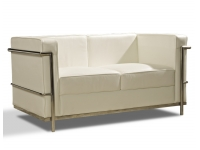 Sofa Le Corbusier blanco