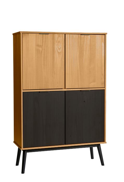 Mueble auxiliar  Estela  madera de pino 95 cm