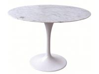 Mesa redonda Tulip Saarinen marmol 120cm