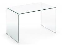 Mesa escritorio cristal templado 125x70
