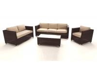 Set sofas rattan Garbi 6 plazas