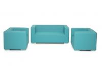 Set sofas terraza piel nautica Seattle