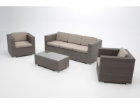 Set sofas rattan Sidney 5 plazas
