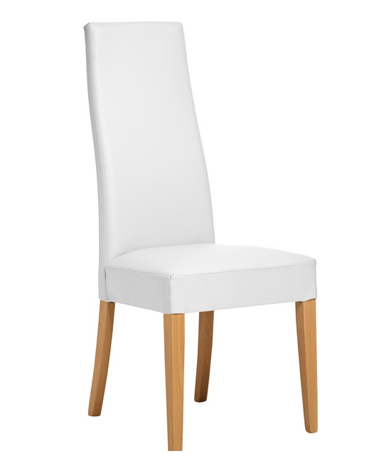 Silla Cobe natural blanco