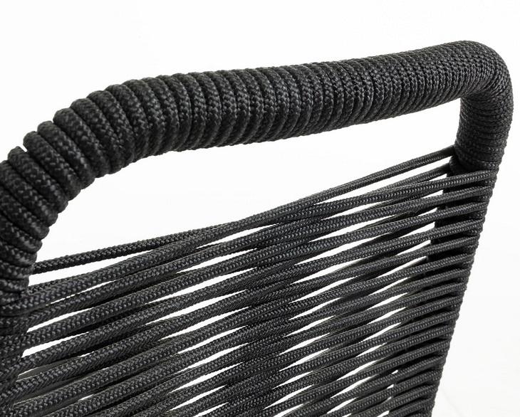 Silla Kitch cuerda negra