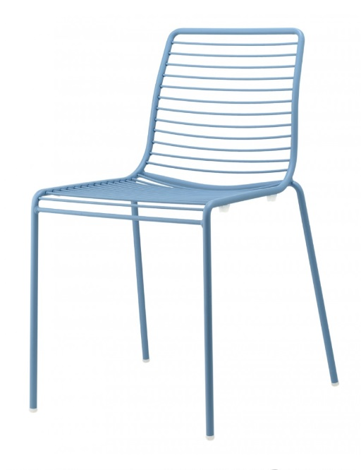 Silla summer metal azul