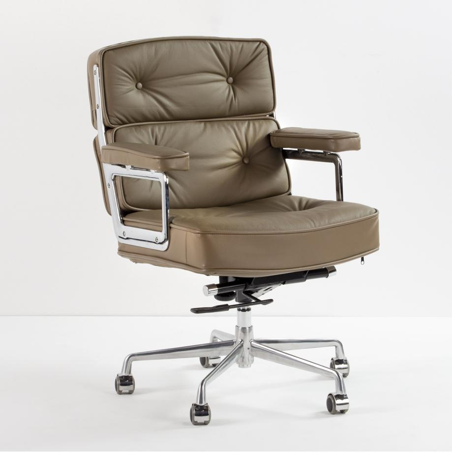 Sillon Lobby Chair ES 104 piel marron
