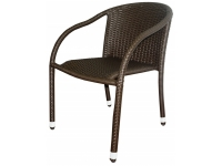 Sillon rattan chocolate Remo
