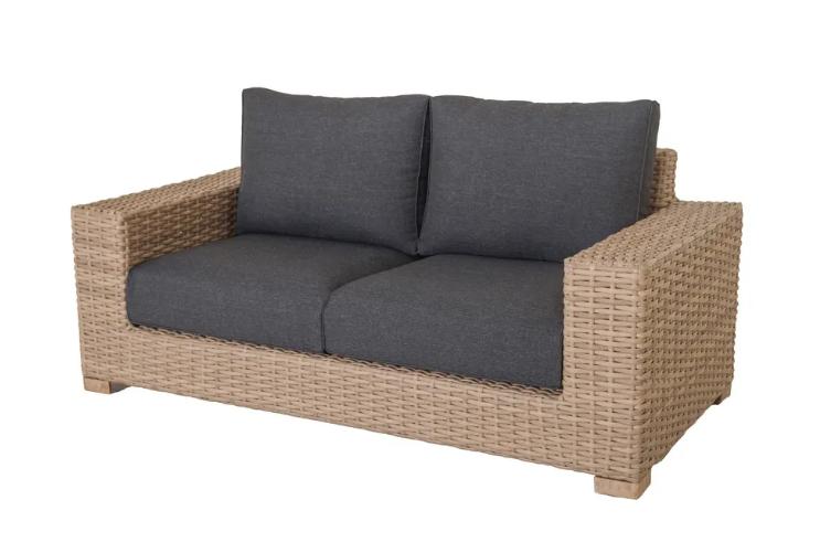 Sofa 2 plazas Saba ratan