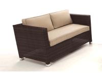 Sofa rattan 2 plazas Garbi
