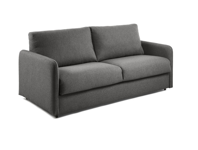 Sofa cama pocket colchon tela kansas grafito