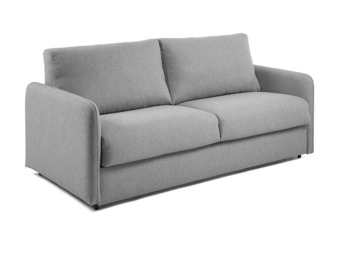 Sofa cama pocket colchon tela kansas gris