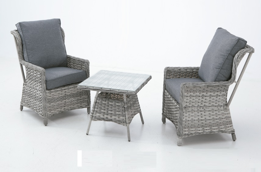 Set sillones rattan bicolor Are