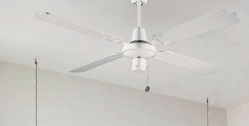 Ventilador de techo Maoui blanco