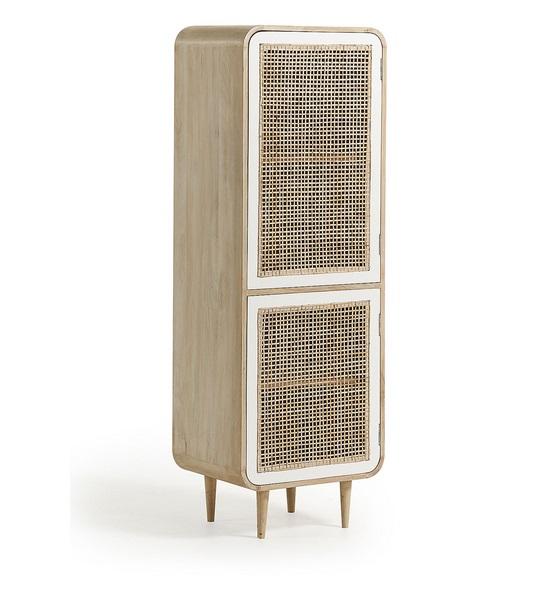 Aparador vintage madera natural blanco ruzafa 150x50