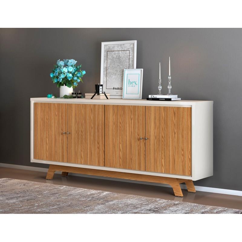 Aparador Hampton madera roble 180 cm