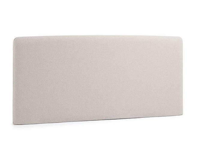 Cabezal pocket tela beige cama 150