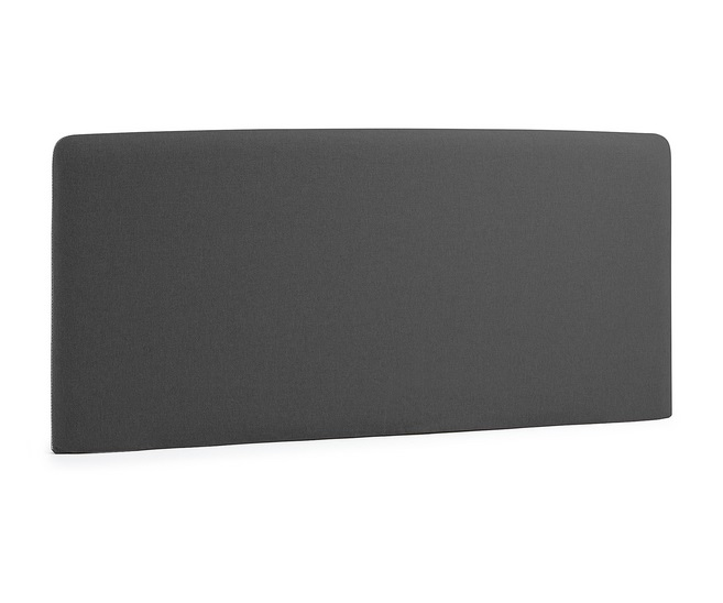 Cabezal pocket tela gris oscuro cama 150