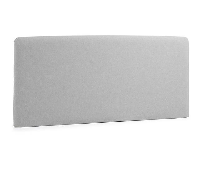 Cabezal pocket tela gris cama 150
