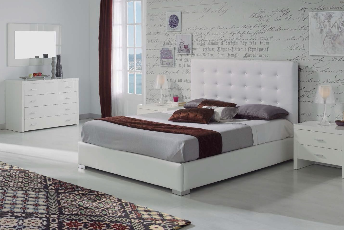 Canapes de cama base cama beige tapirest with canapes for Canape para cama