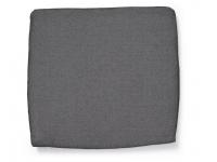 Cojin exterior gris oscuro 49x46