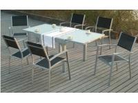 Conjunto alumino mesa extensible calpe II