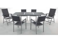 Conjunto de terraza mesa extensible Kind