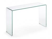 Consola cristal curvado templado