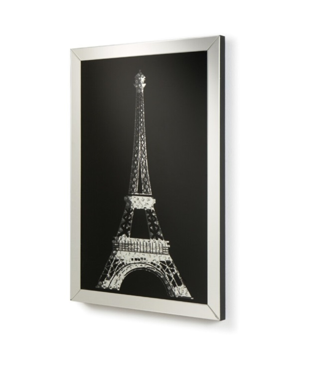 Cuadro espejo torre Eiffel 120x80