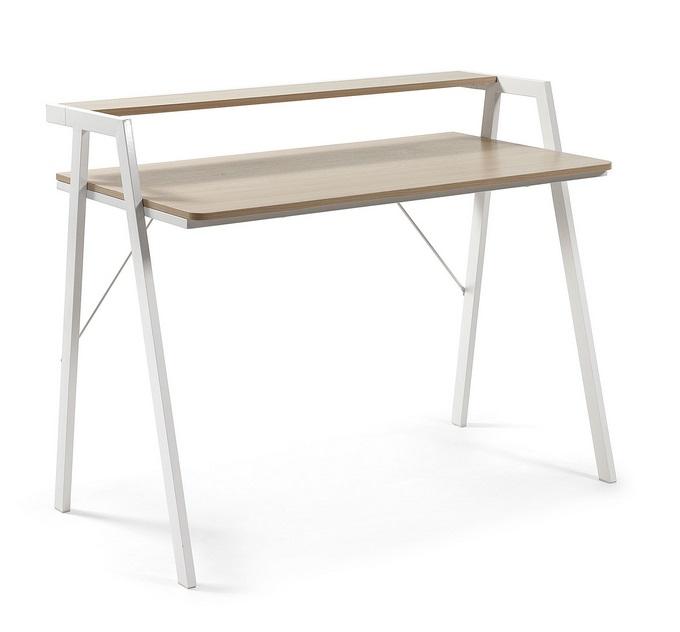 Escritorio madera nordico visby 115x60