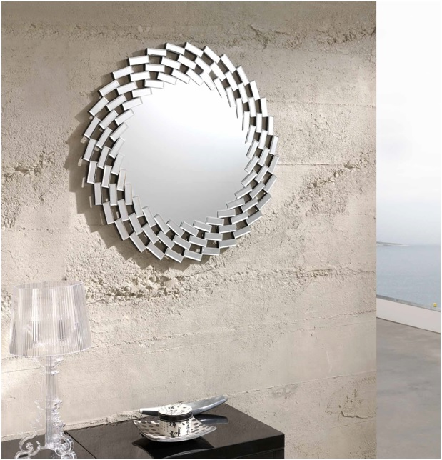 Espejo redondo 78cm grecia E-111