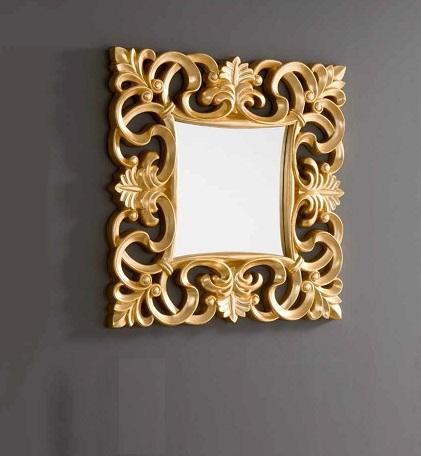 Espejo Lis oro 100x100 PU-021