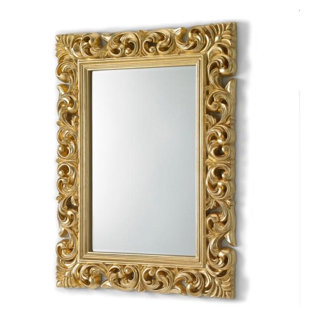 Espejo clasico oro 120x90