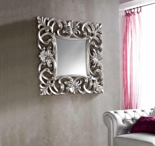 Espejo Lis plata 100x100 PU-021