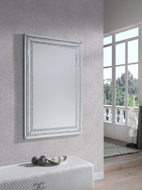 Espejo clasico E-118 nacar 120x80