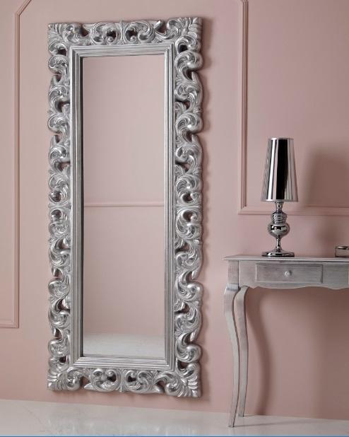 Espejo clasico plata 190x80