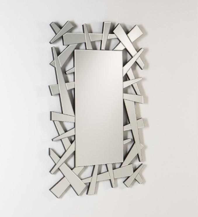 Espejo rectangular moderno 120x76 E-864