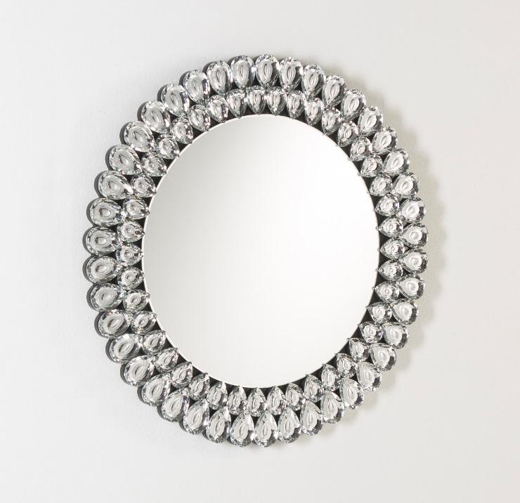 Espejo redondo gotas 80 cm
